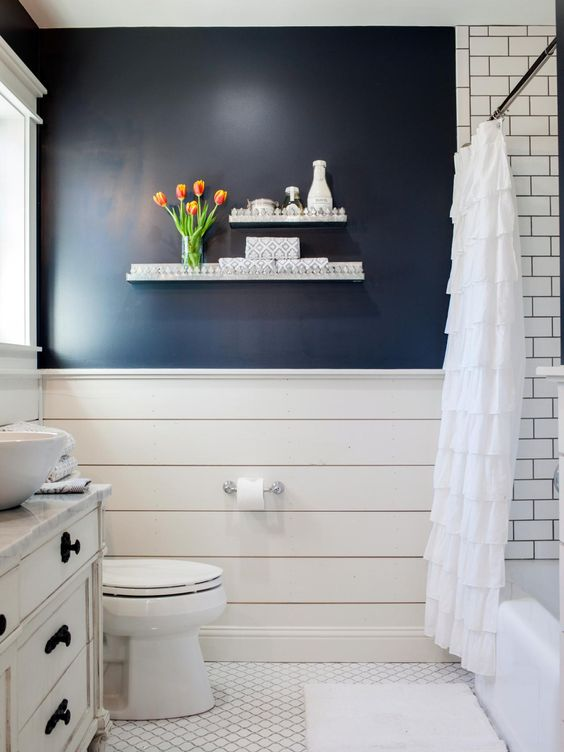 10 Ways To Add Shiplap To Your Farmhouse Bathroom The