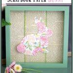 Scrapbook Paper Bunny Art