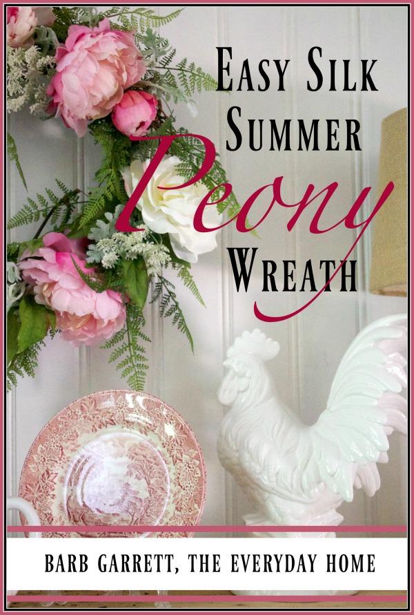 Easy 5-Step DIY Summer Wreath | The Everyday Home | www.everydayhomeblog.com