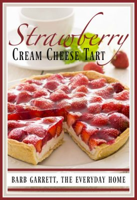 Easy Strawberry Cream Cheese Tart Recipe