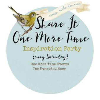 Share It One More Time Inspiration Party #87