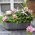 Easy Summer Farmhouse Centerpiece