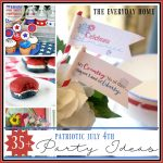 35+ Patriotic July 4th Projects, Recipes and Party Ideas