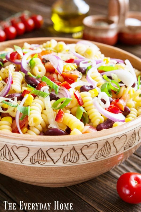 Mexican Style Pasta Salad