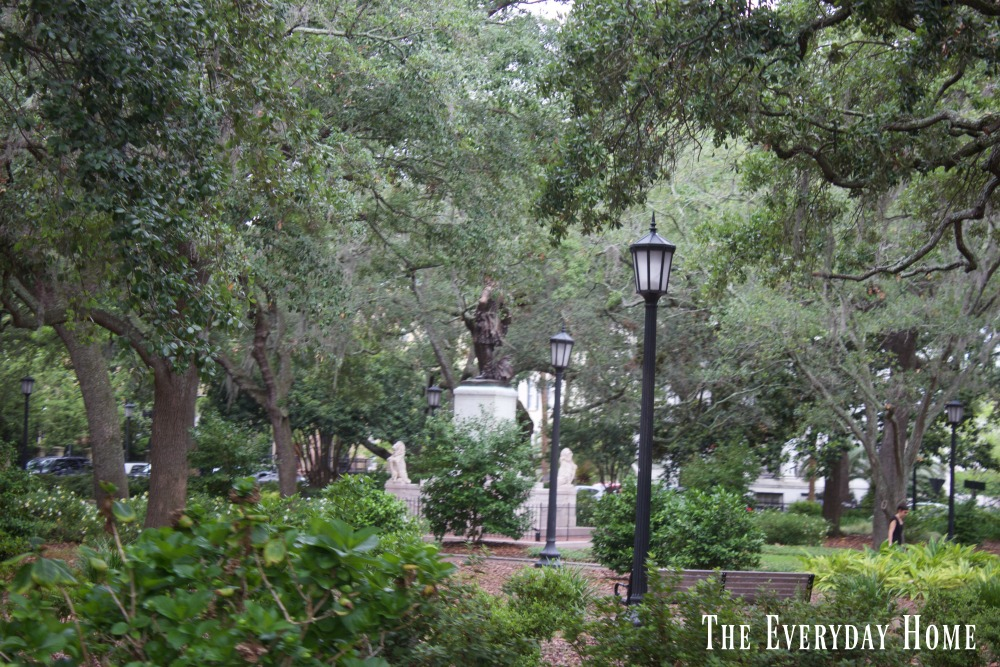 Tour Historic Savannah Georgia -Part 1 || The Everyday Home || www.everydayhomeblog.com