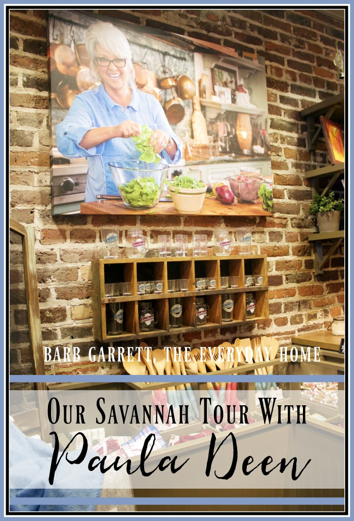 Tour of Historic Savannah with Paula Deen | The Everyday Home | www.everydayhomeblog.com