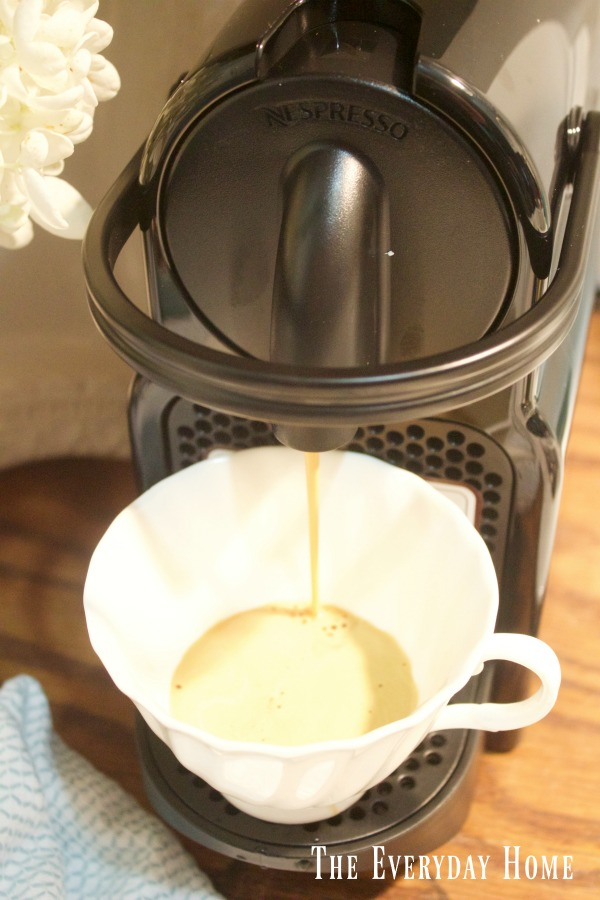 Homemade Chocolate Espresso Pudding | The Everyday Home | www.everydayhomeblog.com