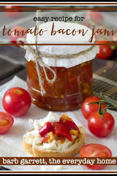 Easy Recipe for Tomato Bacon Jam | The Everyday Home