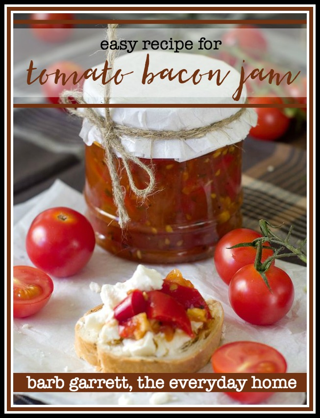 Recipe for Tomato and Bacon Jam | The Everyday Home