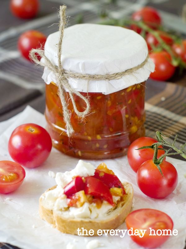 How to Make Tomato and Bacon Jam | The Everyday Home