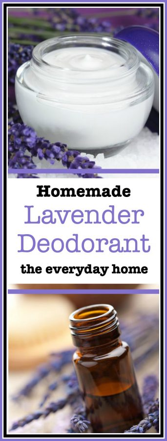 Easy Homemade Lavender Deodorant | The Everyday Home
