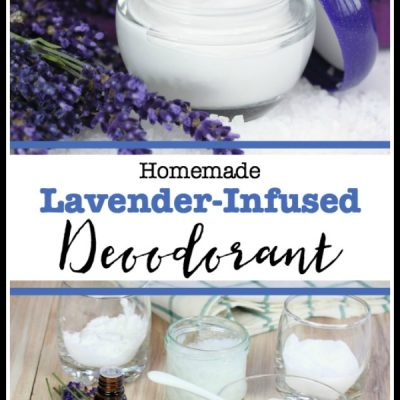 Homemade Lavender Deodorant