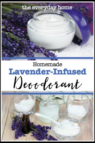 Homemade Lavender Deodorant | The Everyday Home