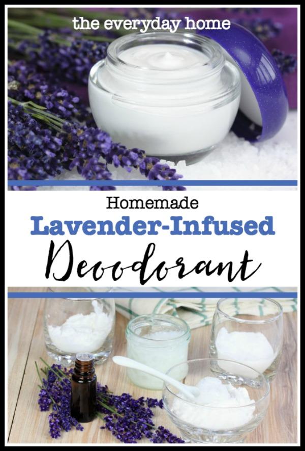 Homemade Lavender Deodorant | The Everyday Home