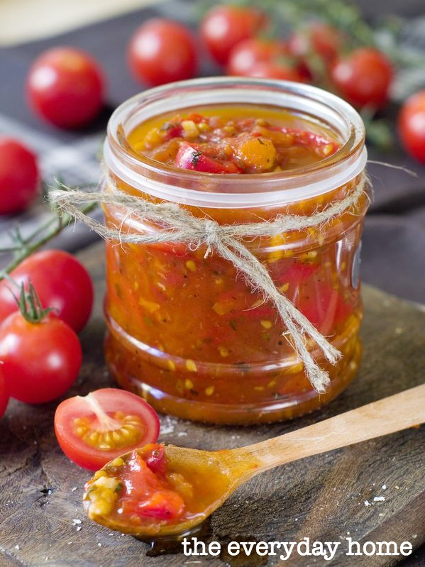 Tomato and Bacon Jam Recipe | The Everyday Home