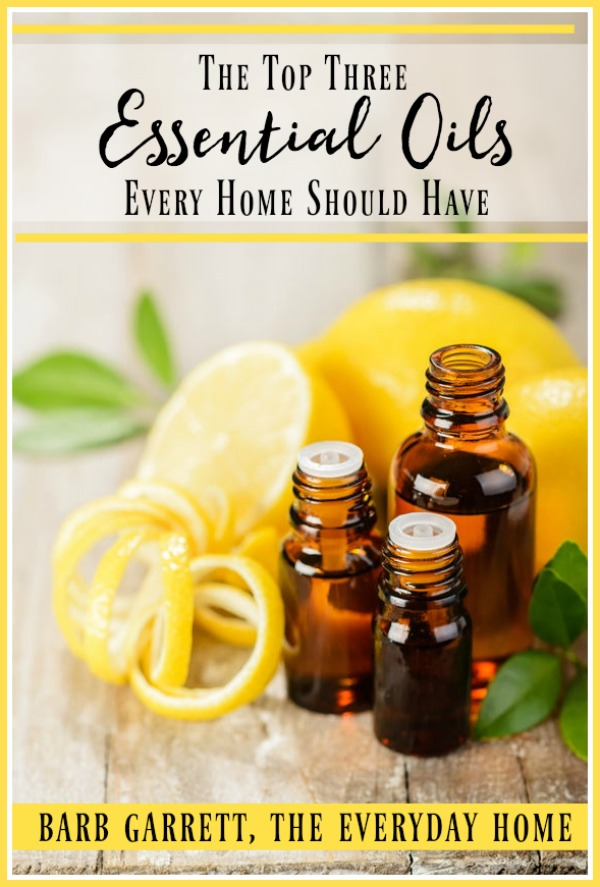 The Top Three Essential Oils Every Home Should Have | The Everyday Home