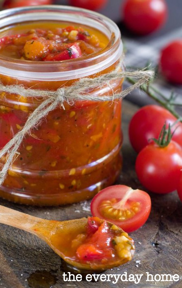 How to Make Easy Tomato and Bacon Jam | The Everyday Home