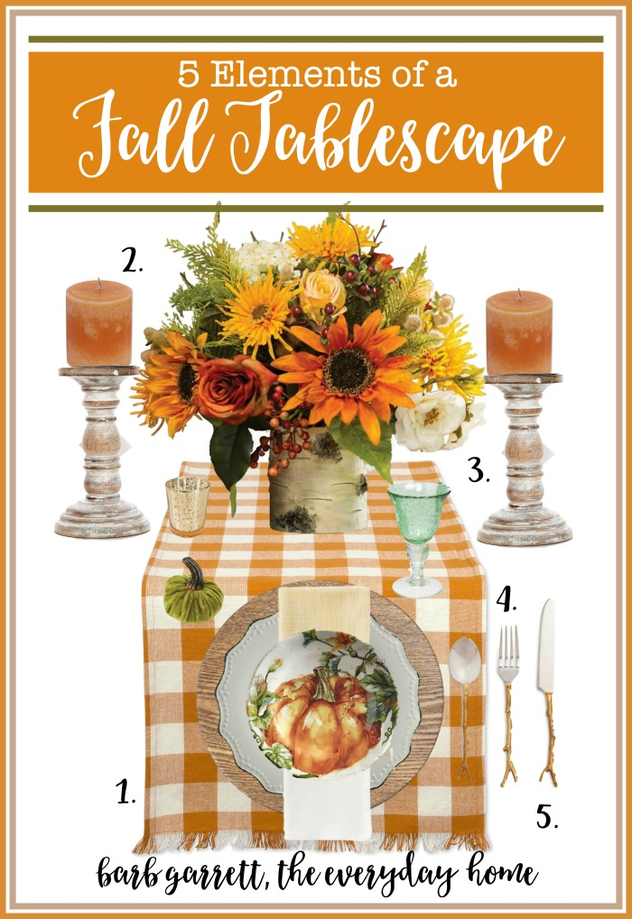 5 Elements (and Resources) of a Fall Tablescape | The Everyday Home