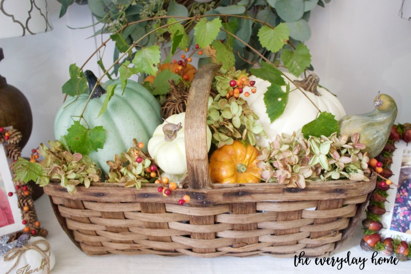 Rustic Fall Farmhouse Basket | The Everyday Home