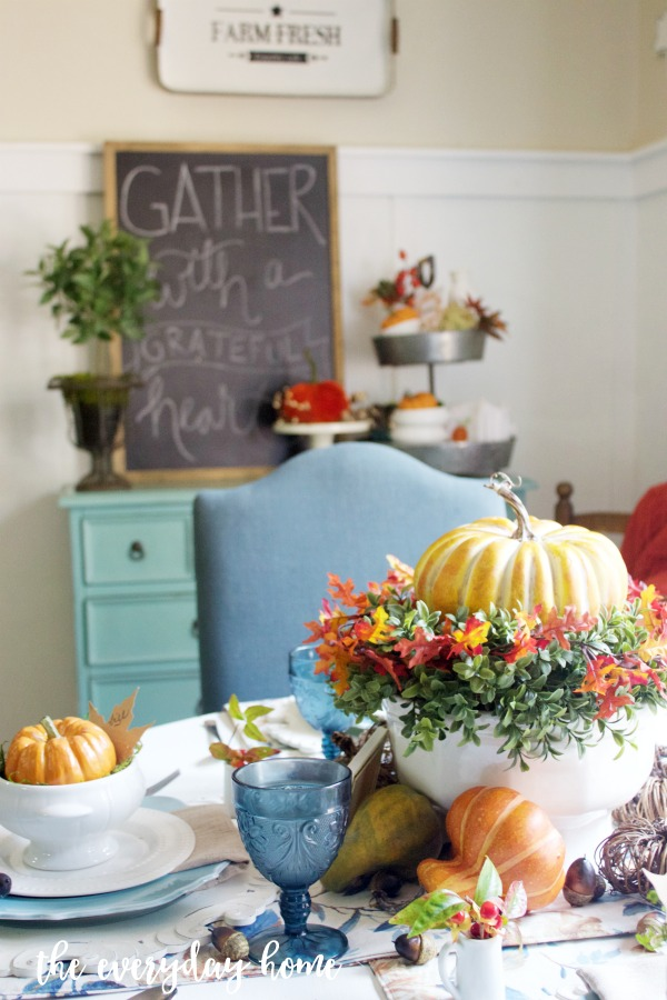 Creating a Fall Tablescape | The Everyday Home