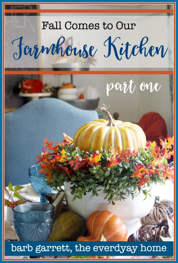 Fall in Our Farmhouse Kitchen