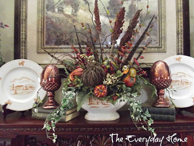 My Favorite Things for Fall - Mantels | The Everyday Home