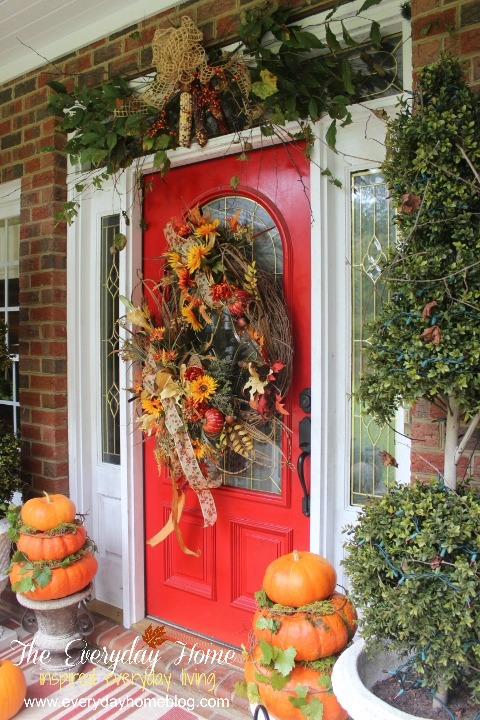 My Favorite Things for Fall - Porches | The Everyday Home