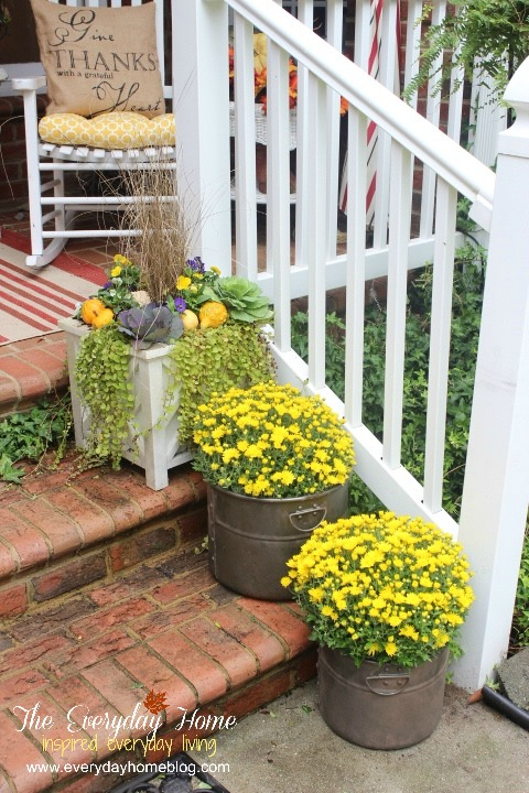 My Favorite Things for Fall - Front Porches | The Everyday Home