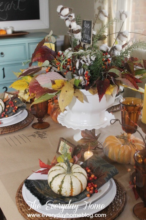 Adding the Unexpected in a Fall Tablescape | The Everyday Home