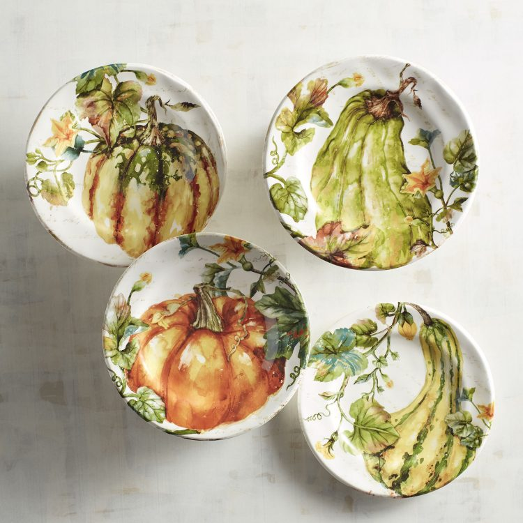 Fall Salad Plates by Pier1 | The Everyday Home