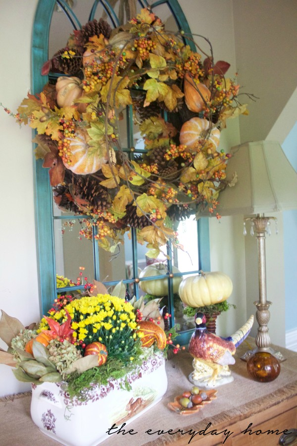 My Favorite Things for Fall - Fall Wreaths | The Everyday Home
