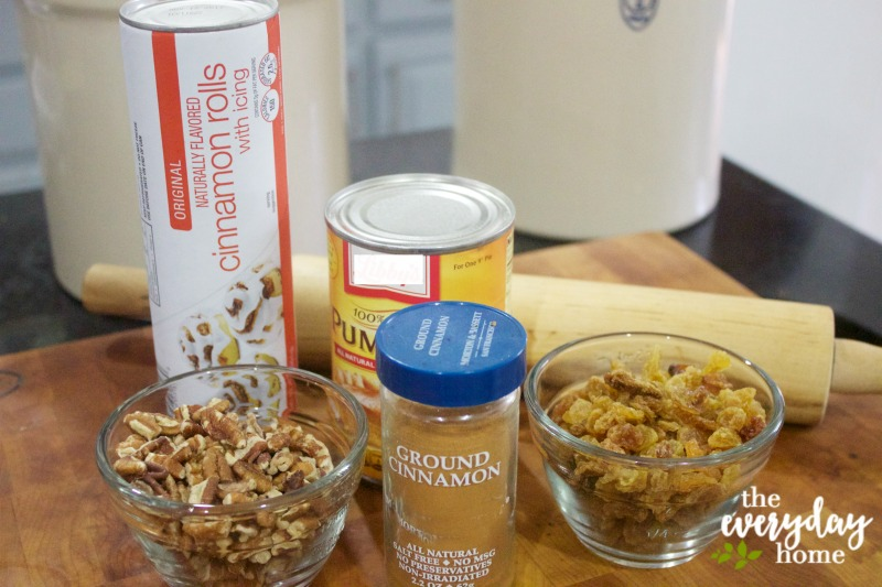 Ingredients for Pumpkin Muffins | The Everyday Home