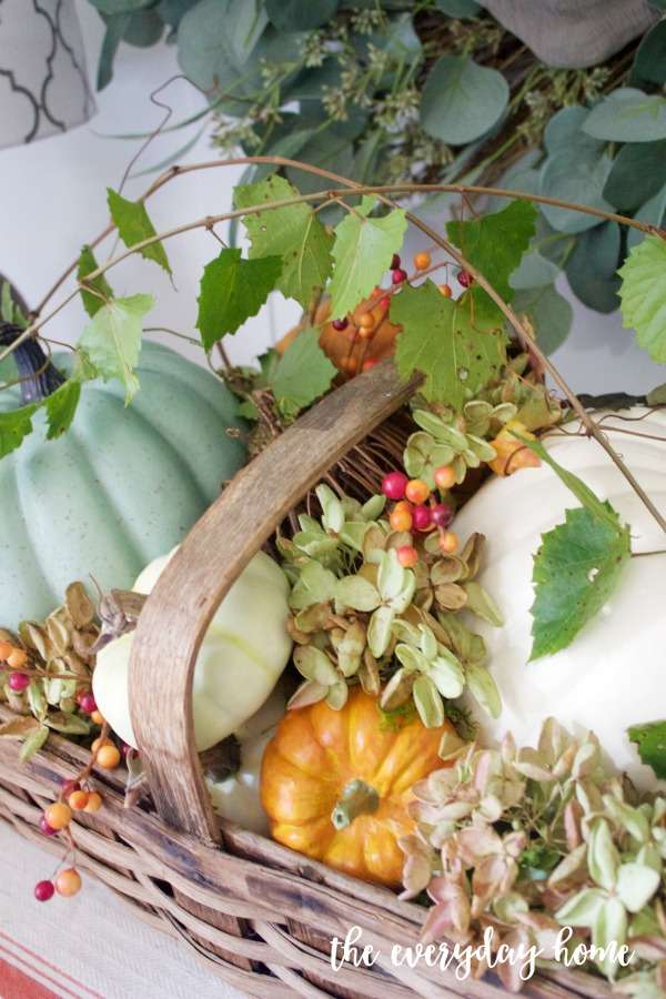 A Rustic Fall Basket | The Everyday Home