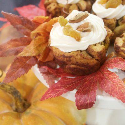 Easy Pumpkin Raisin Muffin Recipe