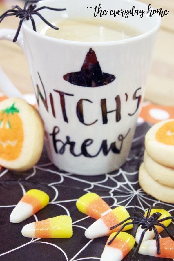 DIY Halloween Coffee Cup | The Everyday Home