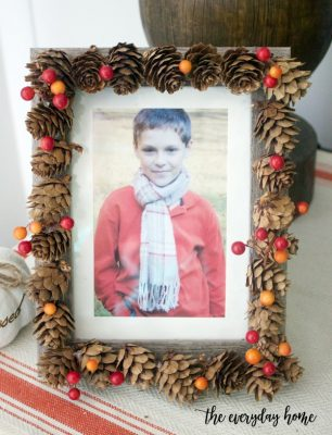 Three Easy DIY Fall Picture Frames