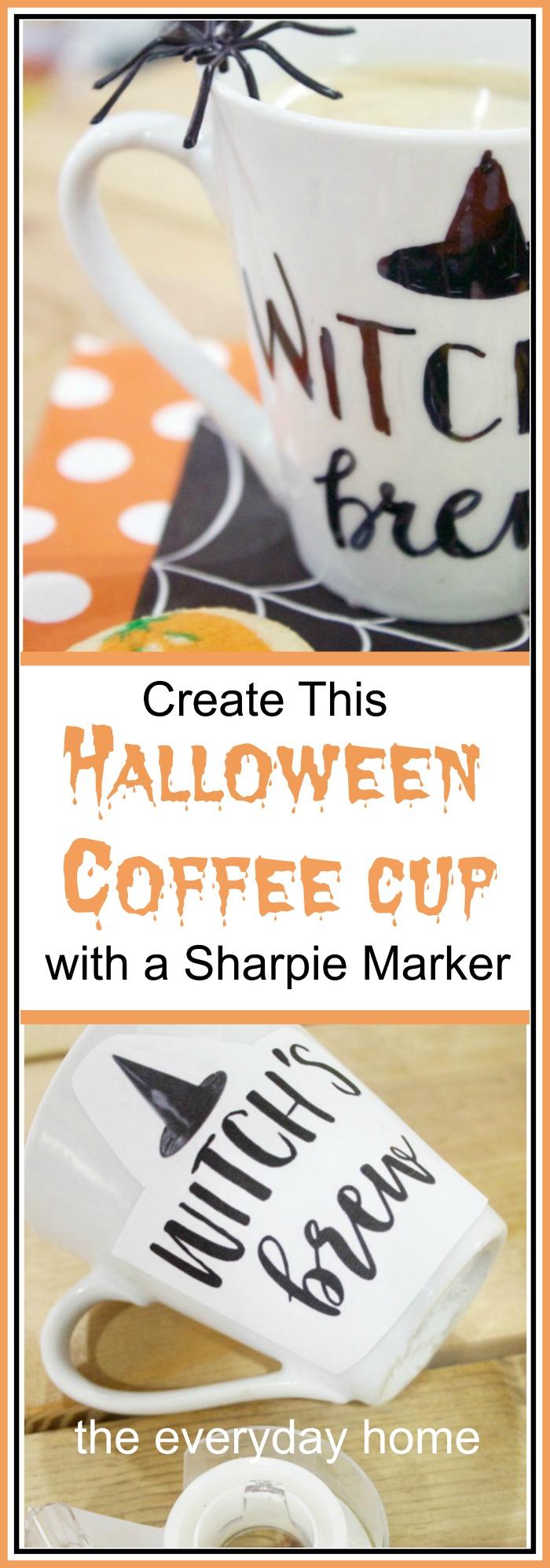 How to Create a Custom DIY Halloween Cup | The Everyday Home
