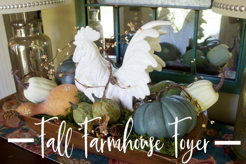 A Fall Farmhouse Foyer | The Everyday Home