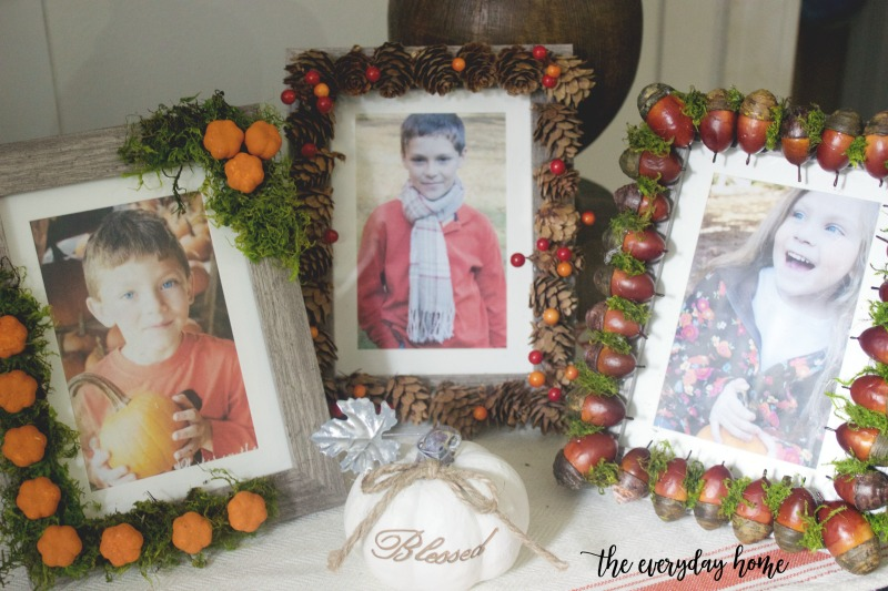 3 Easy DIY Fall Picture Frames | The Everyday Home