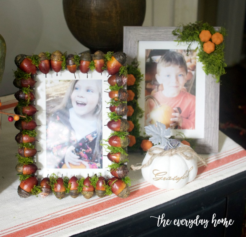 Easy DIY Fall Frames | The Everyday Home