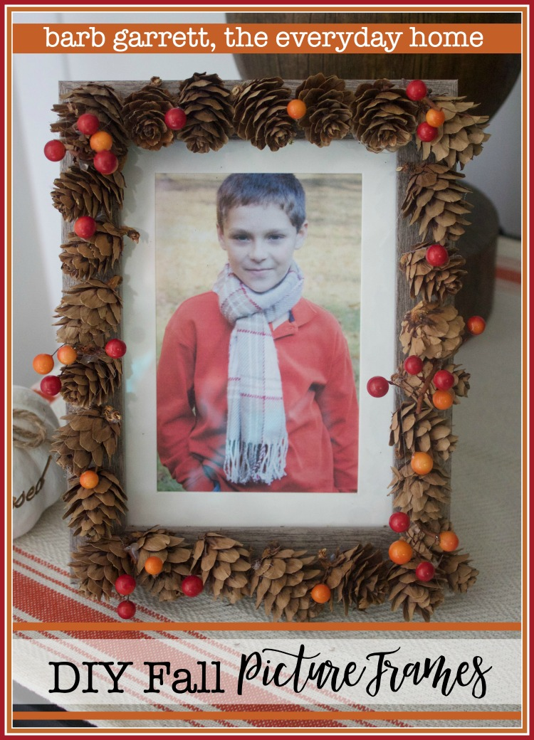 Three Easy DIY Fall Picture Frames - The Everyday Home