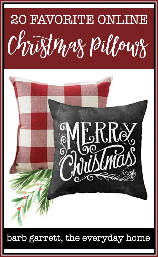 20 Favorite Online Christmas Pillows | The Everyday Home