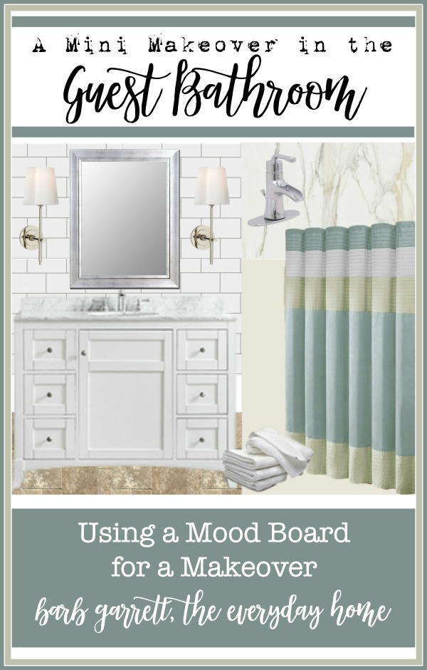 Using a Mood Board for a ReDesign | The Everyday Home