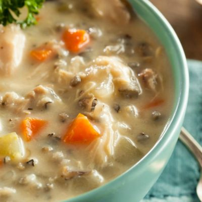 Thanksgiving Leftovers Turkey Soup