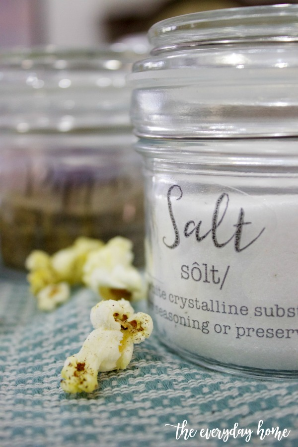 Make These Easy DIY Salt and Pepper Jars | The Everyday Home
