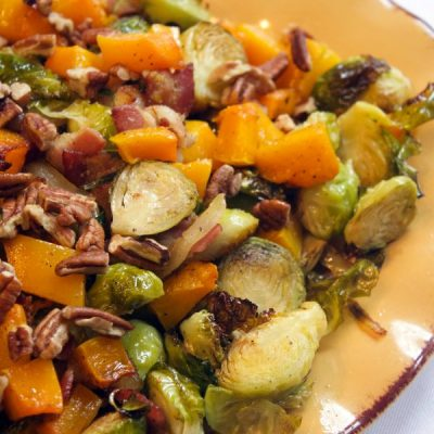 Easy Recipe Roasted Brussel Sprouts