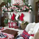 Old Fashioned Farmhouse Christmas Mantel