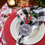 Christmas Napkin Ring Printables