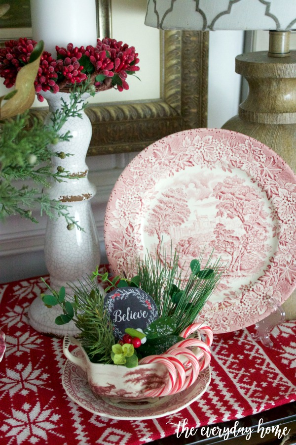 Old Fashioned Christmas Candy Dish | The Everyday Home