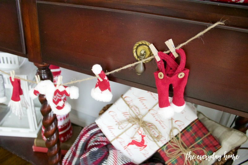 Santa's Laundry on the Line | The Everyday Home